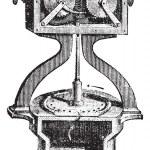 Civil defense siren internal mechanism of a Siren or Alarm vinta — Stock Vector #9103821