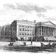 Royalty-Free Stock Vektorfiler: United States Department of the Treasury Building, in Washington