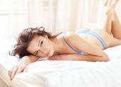 Młoda kobieta sexy bielizna — Zdjęcie stockowe