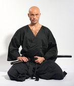 Ken-do warrior — Stock Photo