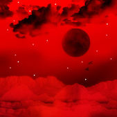 Red Universe — Stock Photo