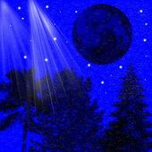 Sparkling night — Stock Photo