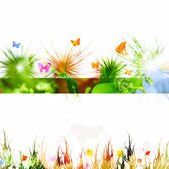 Colorful vintage spring — Stock Photo