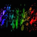 Splash colors — Stock Photo