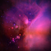 Purple universe — Stock Photo