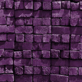 Purple bricks wall — Stock Photo