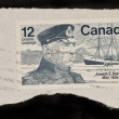CANADA - CIRCA 1977: A stamp printed in Canada shows a picture of Joseph E. — Stock Photo
