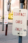 Compact Cars — Stock Photo