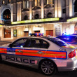 Metropolitan Police car — Stock Photo