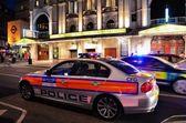 Metropolitan Police car — Stock Photo