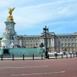 Stock Photo: Buckingham Palace and Queen VictoriMemorial