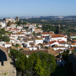 Walled town, Óbidos — Stock Photo