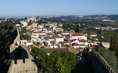 Walled town, Óbidos — Fotografia Stock