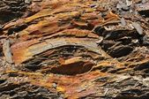 Shale rocks — Stock Photo