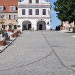 Stock Photo: Main Square in Sandomierz, Poland