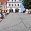 Main Square in Sandomierz, Poland — Stock Photo