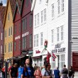 Bryggen district in Bergen, Norway — Stock Photo #8386119