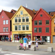 Bergen wooden houses — Stock Photo #8386137