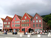 Bergen wooden houses — Stock Photo