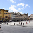 Piazza di Santa Croce, Florence - Stock Photo