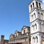 Piazza Trento e Trieste, Ferrara — Stock Photo #8884144