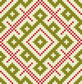 Ethnic slavic seamless pattern#16 — Stock Vector