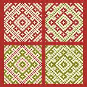 Ethnic slavic seamless pattern#18 — Stock Vector