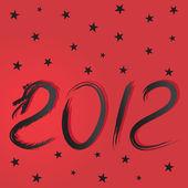 Kartki świąteczne ze smokiem, ilustracji wektorowych — Wektor stockowy