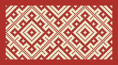 Ethnic slavic seamless pattern#19 — Stock Vector