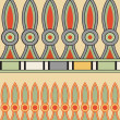 Vector de stock : Egyptiornament, vector illustration, seamless pattern