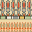 Egyptiornament, vector illustration, seamless pattern — ストックベクター #8373463
