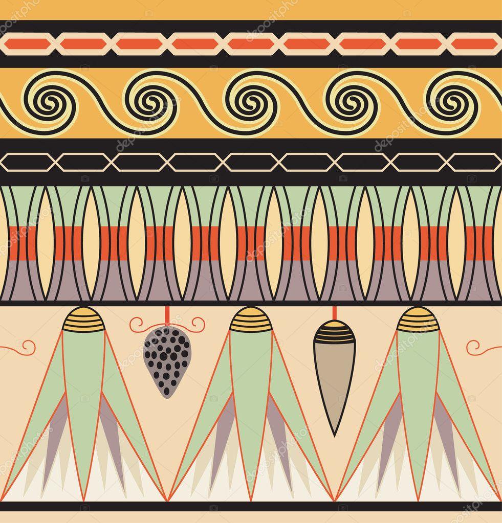 Узоры древнего египта