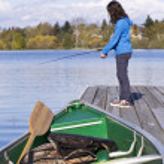 Fishing Boat on Dock — Stock Photo