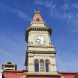 Top part of City Hall in Victoria Canada — Stock Photo