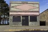Abbandona il vecchio edificio — Foto Stock