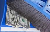 Dinero malgastado — Foto de Stock