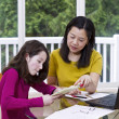 Teaching Chinese — Stock Photo