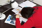 Fiscali esaurito — Foto Stock