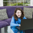 Stock Photo: Learning at Home