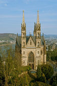 Apollinaris church in Remagen, Germany — Stok fotoğraf