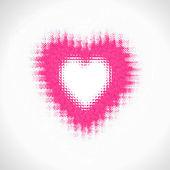 Valentinstagskarte, vektor — Stockvektor