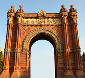 Triumph Arch, Barcelona — Stock Photo