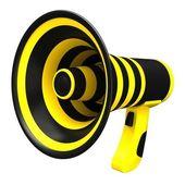 Megaphone in bright colors. — Stock Photo