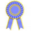 Blue Ribbon Award — Stock Photo
