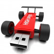 High-speed USB flash drive — Stock Photo