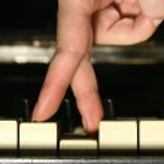 Playing piano — Stock Photo #10059360