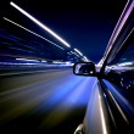 Night car drive — Stock Photo #10097466