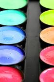 краска цвета палитры — Стоковое фото