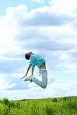 Man jump — Stock Photo