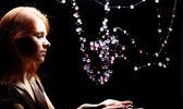 Diamanten meisje — Stockfoto